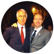 con Giovanni Malagò, presidente del Coni